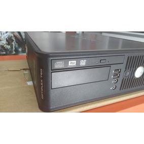 Cpu Dell Optiplex 760 Desktop Core 2 Duo 2gb Hd 160gb Dvd