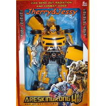 Transformers Bumblebee Autobot Mechtech 45 Cm Pronta Entrega