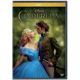 Cinderela 2015 O Filme Dvd Disney Novo Original ( Lacrado)