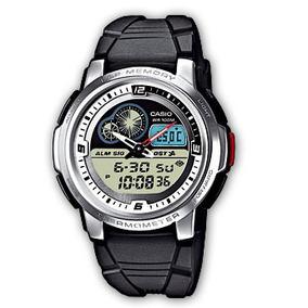 Relógio Casio Mundial Aqf 102w 7 Termometro H. Mundial