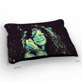 Colchão Para Pet Blues Janis Joplin 85x60cm