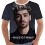 Camisa Camiseta Babylook Regata Zayn Malik Mind Of Mine
