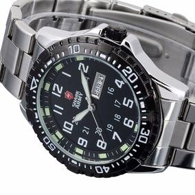 Relógio Masculino Pulso Shark Army Aries Dia - Frete Grátis