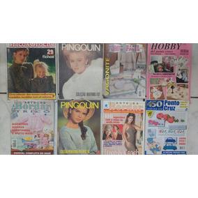 8 Revistas De Trico E Croche Barato E Frete Grátis