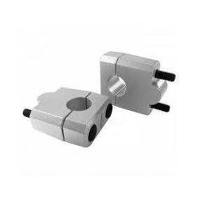 Alongador Guidão 22mm Prata Cb300/twister/fazer/hornet