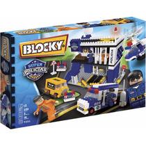 Block Super Policías - Juego Infatil Para Armar