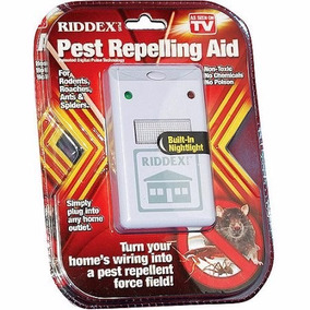 Repelente Eletronico Rato Barata Aranha Formiga Riddex Plus