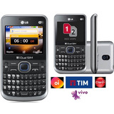 Celular Lg Raro Qwerty,02 Chip,nacional Lacrado,wifi,radiofm