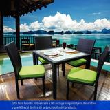 Muebles De Exterior/terraza Juego 4 Cojines Comedor Ali Ch12
