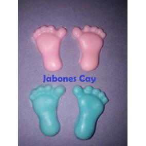 Jaboncitos Piecitos Sourvenir Nacimiento Baby Shower El Par.