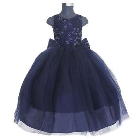 Vestido Azul Rey Con Negro Ropa Bolsas Y Calzado Azul