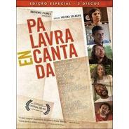 Palavra Encantada - Dvd Duplo - Adriana Calcanhotto - Novo