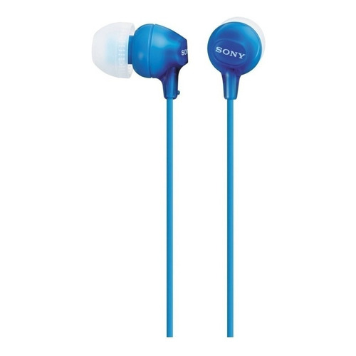 Auriculares Sony EX Series MDR-EX15LP azul