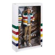 Barbie Stripes Hbc Collector Limited Oriental Articulada