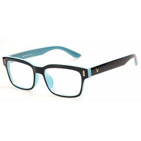Armação Óculos Quadrado Descanso Sem Grau Acessório Ca 2cd24e80aa