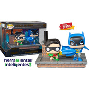 Batman And Robin Comic Moments Funko Dc Comics