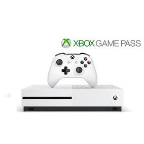 Xbox One S 500gb Branco + Live Gold + Game Pass