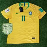 Camisetas Brasil Mundial Rusia 2018 Titular Alterna Neymar