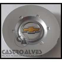 Calotinha Calota Centro Roda Vectra Elegânce 2006|2011 Prata