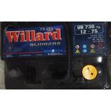 Bateria Willard Ub 730 12v 75 Amp. Ag Calcio Plata