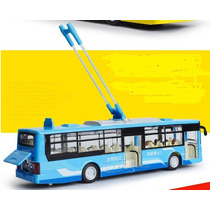 Miniatura Onibus Elétrico (tróleibus)metal Escal 1:50 Urbano