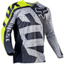 Jersey Fox 180 Nirv Gris Talla M Motocross Mtb Downhill