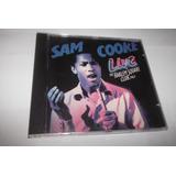 Cd - Sam Cooke - Live At Harlem Square Club 1963 - Raríssimo