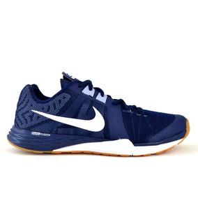 Tenis Nike Azul Marino Hombre Textil [nik1845]