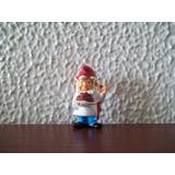 Miniatura Kinder Ovo - Gnomo Cozinheiro - Duende Profissões