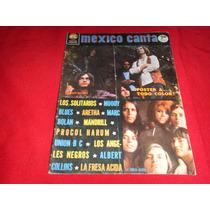 México Canta - Revista De Rock & Roll Del Año 1972