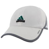 Adidas Hombres Adizero Ii Cap, Un Tamaño, Blanco / Gris Clar