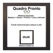 Moldura 20x20 Com Vidro