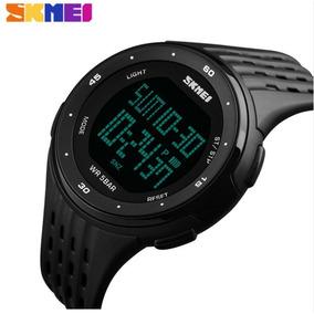 Relógio Masculino Esportivo Caminhada Corrida Digital Led