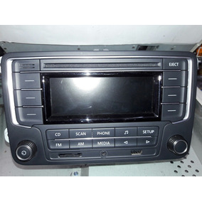 Stereo Volkswagen Original Gol Trend Bt Usb Micro Sd