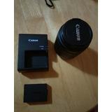Lente Canon 18-55 Mm Batería Y Cargador Lp-e10 Rebel T3
