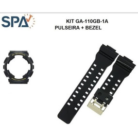 Kit Pulseira+bezel Do Relogio Casio Ga-110gb-1 100% Original