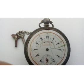 Relógio De Bolso Imperio Otoman Serkisoff. Prata 0.800