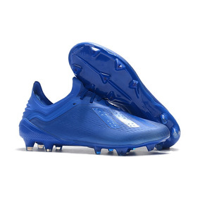 Chuteira Adidas Campo - Chuteiras Adidas de Campo para Adultos Azul ... 489bc3ea58ac9