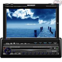 Dvd Player Booster 9750 Tela 7 Retrátil Touch Bluetooth
