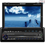 Dvd Player Booster 9750 Tela 7 Retrátil Touch Bluetooth