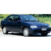 Calotas Aro 14 ( 04 Peças ) P/ Ford Escort Zetec + Emblemas
