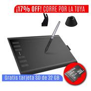 Tableta De Dibujo Grafica Huion New 1060 Plus Con 8192 Presi