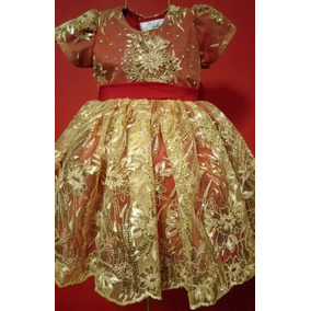 Hermoso Vestido Pajesita Presentacion Calidad Premium