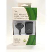 Carregador + Bateria Controle Xbox 360 Altomex Original C/nf
