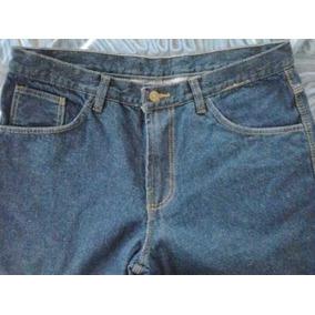 Pantalón Jean Triple Costura Para Trabajo
