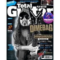 Dimebag Darrell - Total Guitar 2015 - Tablatura Libro