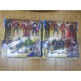 Muñecos Articulados Avenger Thanos - Spiderman - Iron Man