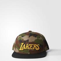 Gorra Vicera Snapback Adidas Originals Nba Angeles Lakers