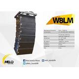 Bafle Line Array Melo W8lm Nuevo Envío Gratis