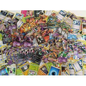 Lote Cartas Pokemon Al Azar Incluye Pokemon Ex - Gx - Break